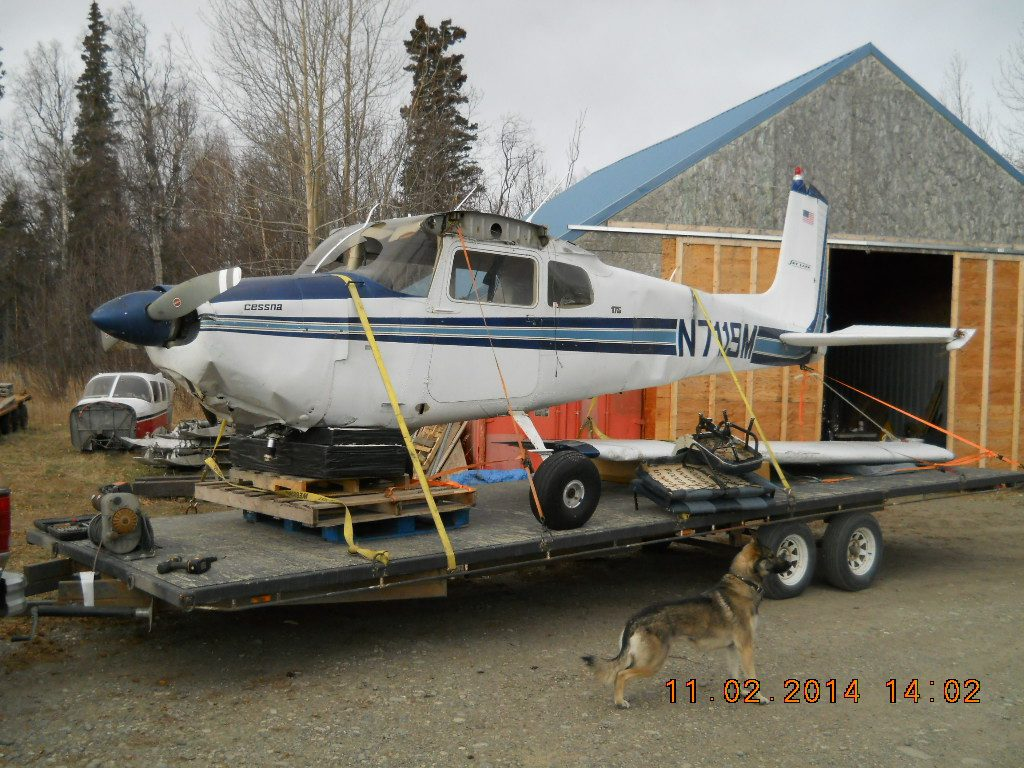 Sutton Aircraft Salvage | Alaskan Aircraft Junkyard