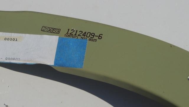 1212409-6 Cessna Bulkhead
